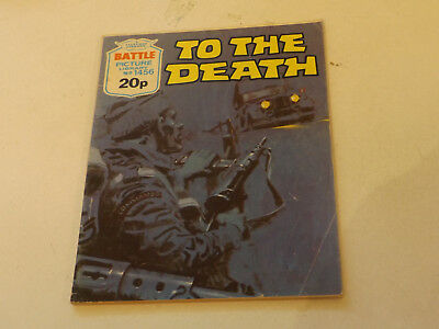 BATTLE PICTURE LIBRARY NO 1456,dated 1981!,V GOOD FOR AGE,VERY RARE,37 yrs old.