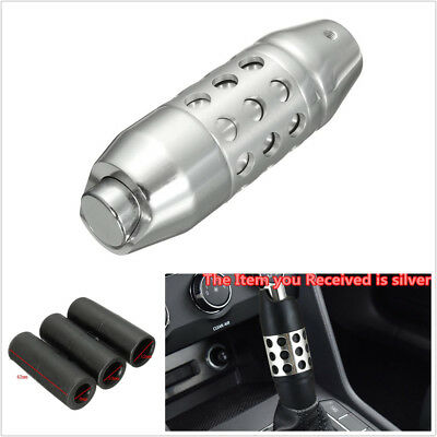 Silver Car Auto Gear Shift Knob Car Automatic Transmission Shifter Button Lever