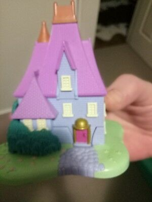 Vintage Disney Sleeping Beauty Castle Polly Pocket