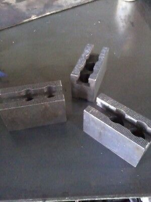 3 Jaw Lathe chuck jaw riser blocks