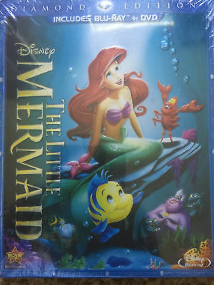 The Little Mermaid (Blu-ray DVD, 2-Disc Set, Without Digital Diamond Edition)