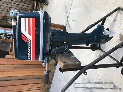 8HP Tohatsu long shaft outboard motor, in very good cond. ready for use.