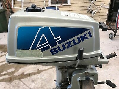 4HP Suzuki Short Shaft outboard motor, in very good cond. ready for use.