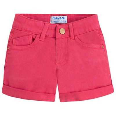mayoral Pantaloncino Casual Bambine Rosso 234-075
