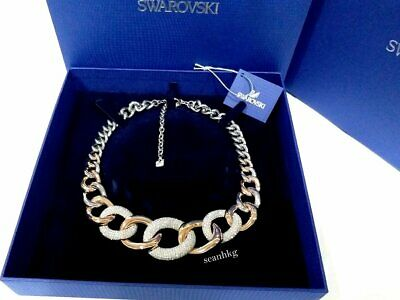 76a55bff6 SWAROVSKI BOUND LARGE Necklace, Clear crystal Authentic MIB 5089276 ...