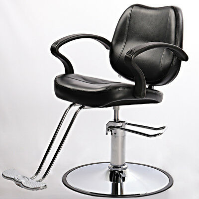 Classic Hydraulic Barber Chair Salon Hairdressing Beauty Shaving Styling Chair B