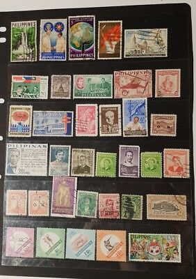 stamps  phillipines  - MH and used  - Lot 832