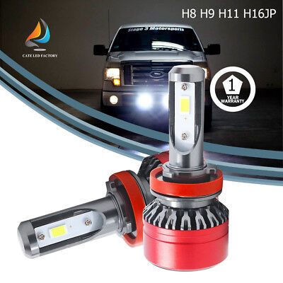 60W 6000LM H8 H9 H11 H16(JP) LED headlight Bulb Acura Canbus HID GMC Ford