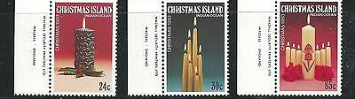 1983 Christmas set of 3 Stamps Complete MUH/MNH as Purchased at Post Office