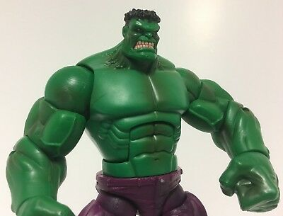 "2008 Hasbro Marvel Avengers INCREDIBLE HULK 7.5"" Action Figure!"