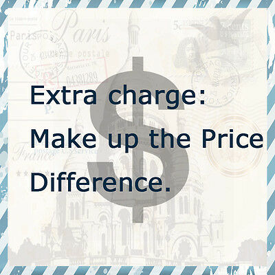 2 Make Up the Difference of Price, for Extra Matched Products
