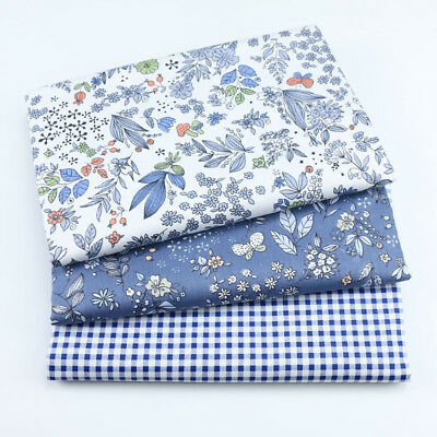 One PCS Cotton Fabric Pre-Cut Cotton Fabric for Sewing Floral D33