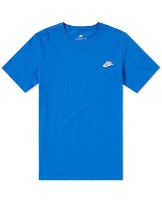 NIKE 827021 063 MENS Sportswear Club Embroidered Futura Tee