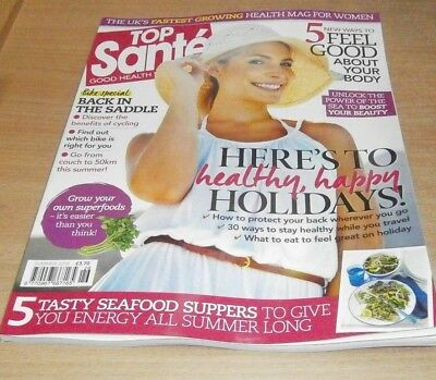 Top Sante magazine JUL 2018 Cycling Benefits, Grow Superfoods, Seafood Suppers &