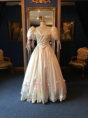 Beautiful Theatrical Victorian Style Day Dress, Fabulous Detailing, Top Item!!.