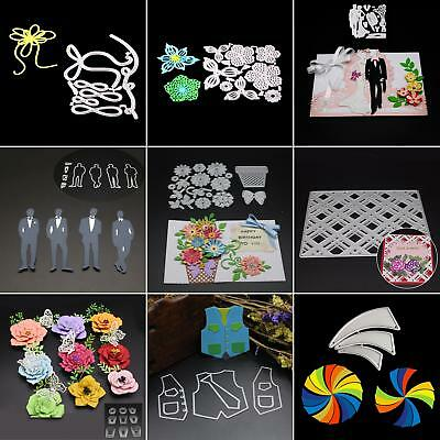 Metal Cutting Dies Stencil Scrapbooking Paper Card Embossing Craft Lot Opulent