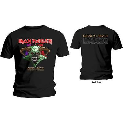 Iron Maiden Legacy of the Beast Tour T-shirt. 100% Official Merchandise