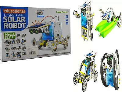 14-1 Educational Solar Powered Robot Kit