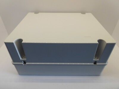 GEWISS GW44220 380x300x180MM DEEP LID ENCLOSURE JUNCTION BOX PLASTIC WATERPROOF
