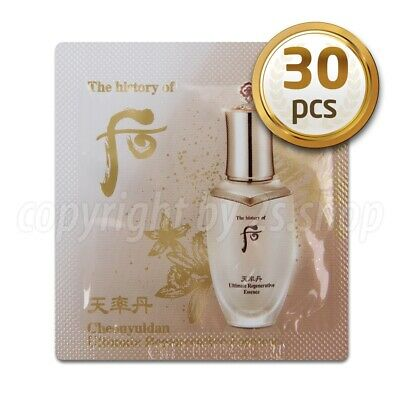 [The History of Whoo] Cheonyuldan Ultimate Regenerating Essence 1ml x 30pcs