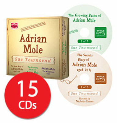 Adrian Mole Audio Book Collection - 15 CDs
