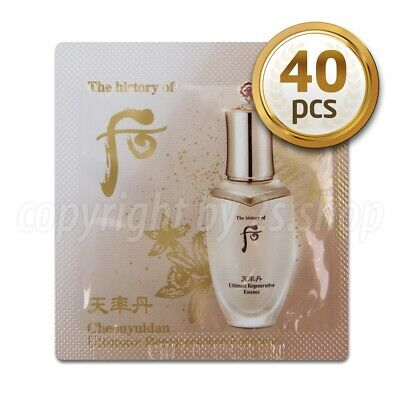 [The History of Whoo] Cheonyuldan Ultimate Regenerating Essence 1ml x 40pcs