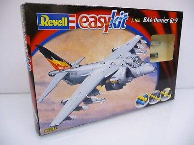 Revell 06645 easy kit 1:100 Scale Model Kit BAe Harrier Gr. 9 Bausatz OVP TOP