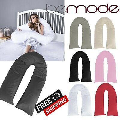 New 9ft 12fT U Shape Pillows Comfort Maternity Pregnancy Full Body Support Cases