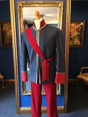 "Handsome Period Uniform Suit Made For ""The Merry Widow"" Top Item!"