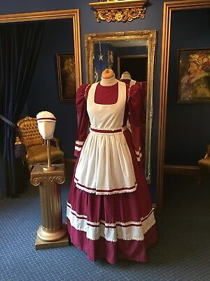 Fantastic Theatrical Style Victorian Maid Costume, Great Detailing,Top Item!