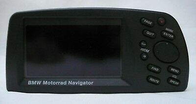 Motorbike Satellite Navigation BMW Motorrad Navigator Boxed & Mounting Cradle
