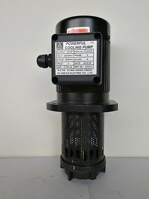 "130mm(5"") Coolant Pump 1/6 HP (125W), Single 1 / 3 Phase 120/240~440/480V"
