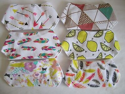 Unisex Baby Kids Printed Soft Bandanna Drool Bibs with Pacifier Holder - 6 Pack!