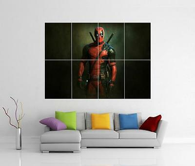 Deadpool Marvel Movie Giant Wall Art Photo Print Picture Poster
