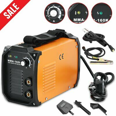 Professional MIG 100 Portable Welder 240v No Gas Welding Gasless 100A 100 Amps
