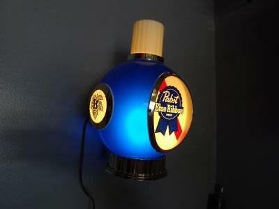 Vtg Pabst Blue Ribbon Wall Mounted Sconce