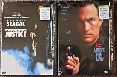 Out For Justice/above The Law-Steven Seagal Double Feature Dvd