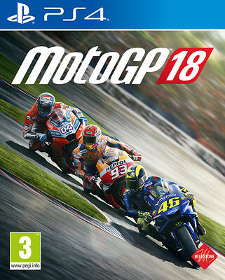Moto GP 18 - Motociclicmo 2018 (Guida / Racing) PS4 Playstation 4 MILESTONE