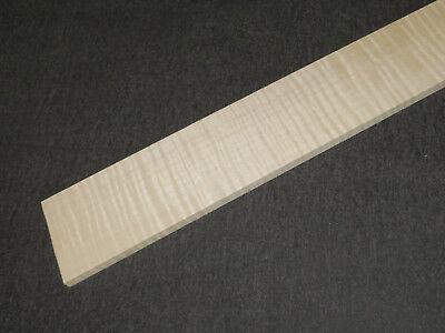 FLAMED MAPLE FRETBOARD BLANK, RIEGELAHORN GRIFFBRETTROHLING - Tonholz, Tonewood