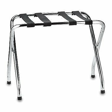 USTECH Chrome Luggage Rack for suitcases and accessories