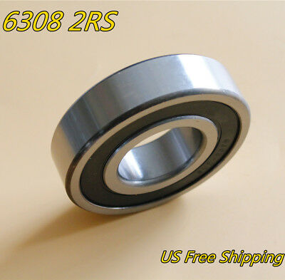 6305-2RS Ball Bearing 25x62x17mmmm Two Side Rubber Seals Bearing 6305-RS New