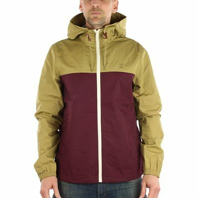 Element Alder Light Jacket - Canyon Khaki Napa Red