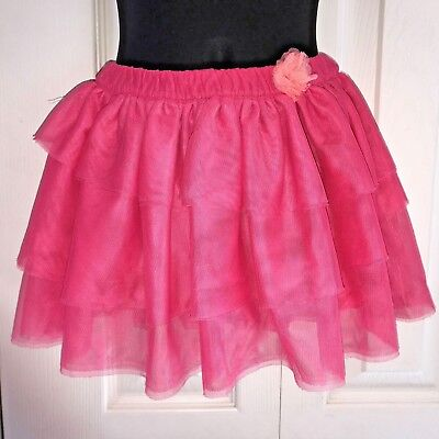 CHEROKEE Everyday Multi-Color Polyester Ruffled Lined Skirt Sz 5T