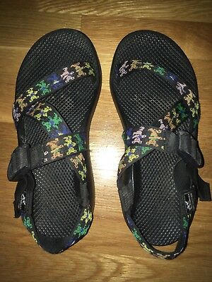 5d3db88e6d1e Grateful Dead Chacos Sandals Mens Size 10 Dancing Bears Dead And Company
