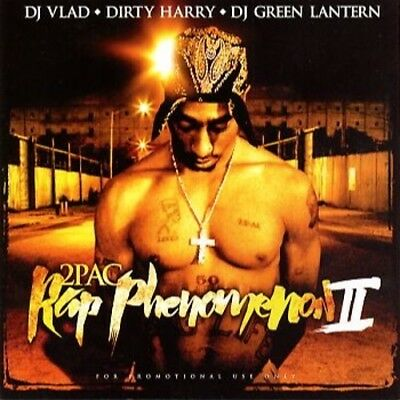 2pac - Rap Phenomenon 2 Mixtape CD
