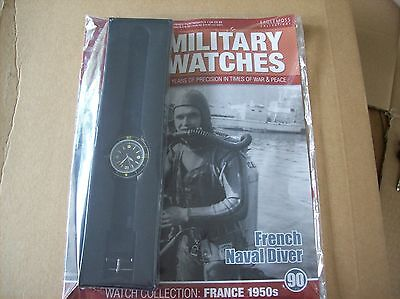 Military Watches Magazine Collection Issue 90 French Naval Diver 1950s