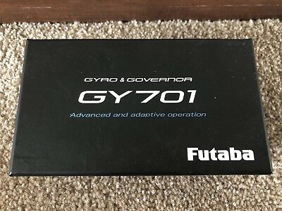 Brand New Futaba GY701 Helicopter Gyro with Governor with MEMS Technology