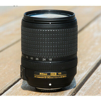 Nikon AF-S 18-140mm F3.5-5.6G VR Bulk Lens Ship from EU Nuevo