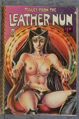 COMIC BOOK Tales From the Leather Nun 1973 Printing $1.50 Cover
