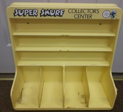 Super Smurf Collectors Center Store Display Wallace Berrie & Co. 1980 Vintage